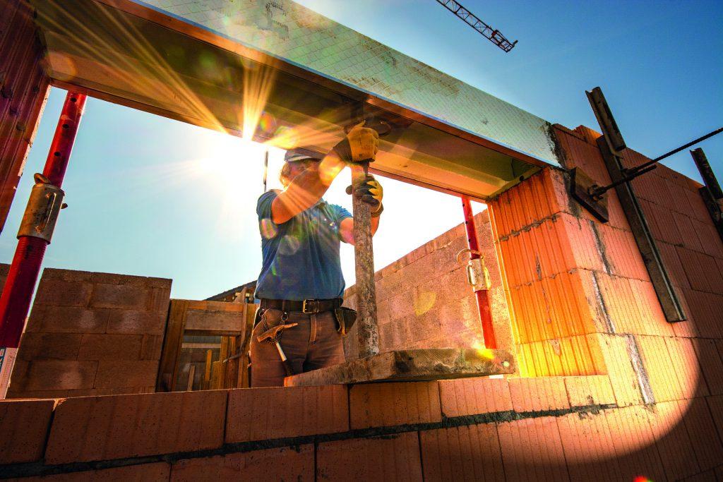 Baulohn Lohnabrechnung Sonne Titelbild